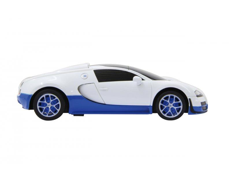 bugatti veyron grand sport vitesse 1 18 wei blau 23 99. Black Bedroom Furniture Sets. Home Design Ideas