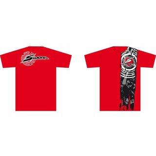 S-Workz T-Shirt Red 2XL