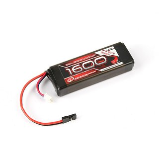 Robitronic LiFe 6,6V, 1600mAh, 2/3A Straight, Empfängerpack (EH)