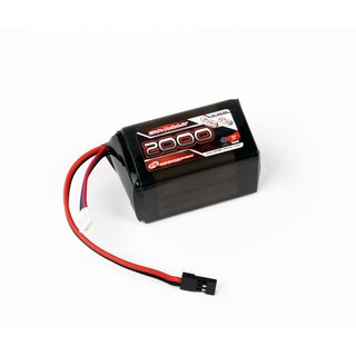 Robitronic LiFe 6,6V, 2000mAh, 2/3A Hump Size, Empfängerpack (EH)