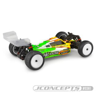 Jconcepts F2 - HB Racing D418 body w/ Aero S-Type wing
