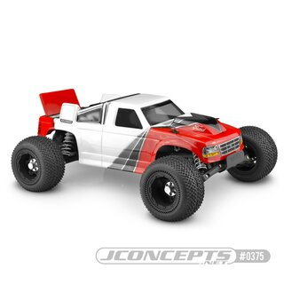 Jconcepts 1993 Ford F-150 - Rustler VXL body w/ rear spoiler