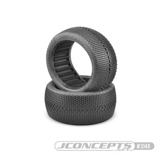 Jconcepts Triple Dees - orange2 compound (fits 4.0 1/8th truck wheel)