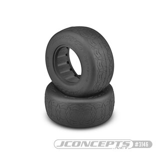Jconcepts Octagons - black compound - (fits SCT 3.0 x 2.2 wheel)