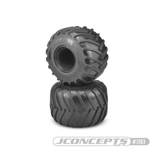 Jconcepts Golden Years Gold Years - Monster Truck tire - gold compound (Fits - #3377 2.6 x 3.6 MT wheel)