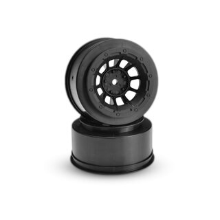 Jconcepts Hazard - Slash front wheel - (black) - 2pc.