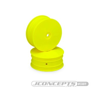 Jconcepts Mono - B74 | B64 | Yokomo YZ4-SF front wheel (yellow) - 4pc