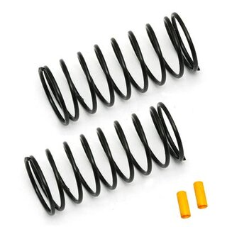 Team Associated FT 12mm Front Springs, yellow, 3.75 lb
