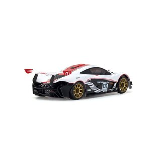 Kyosho AUTOSCALE MINI-Z MCLAREN P1 GTR WHITE-RED (W-MM)